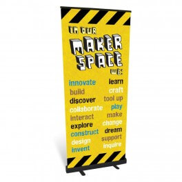 Makerspace Roll Up Banner