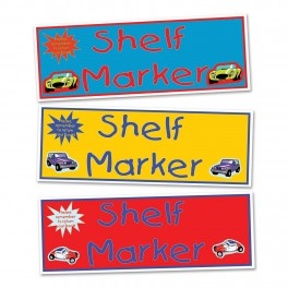 Vehicle Shelf Markers (30)