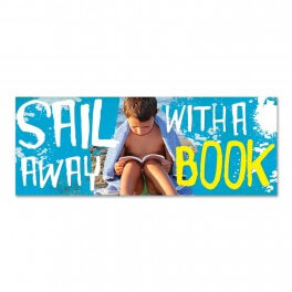 Reading Sail Away Wall Graphic