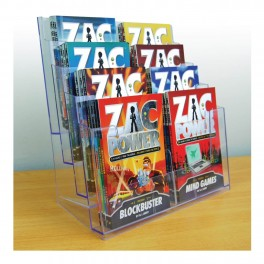 A5 Freestanding Book Display