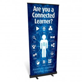 Connected Learner Roll Up Banner