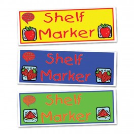 Fruit and Vege Shelf Markers (30)