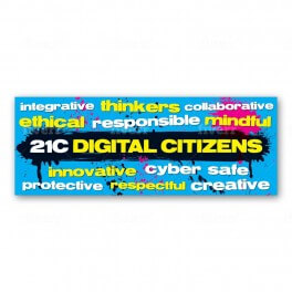 21C Digital Citizens Wall Graphic