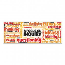 Focus On Inquiry Wall Graphic