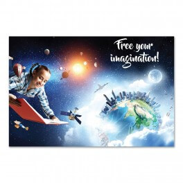 Free your Imagination Wall Mural