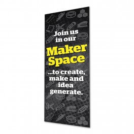 Makerspace Location Banner Poster