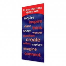 Our Learning Space Banner (Red)