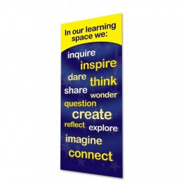 Our Learning Space Banner (Yellow)