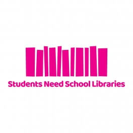 Students Need School Libraries Vinyl Lettering
