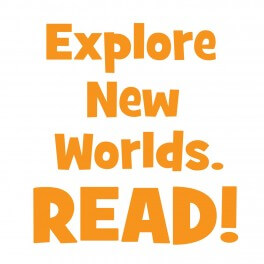Explore New Worlds Vinyl Lettering (Large)