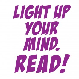 Light Up Your Mind Vinyl Lettering (Large)