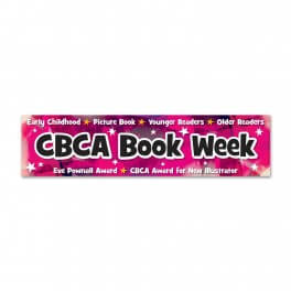 CBCA Book Week Banner (Pink)