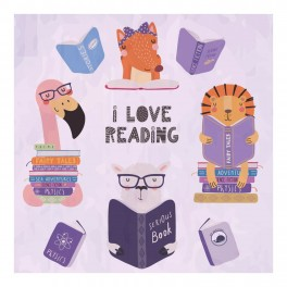 Animals - I Love Reading Wall Graphic Sticker