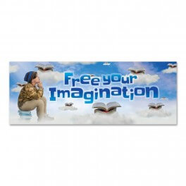 Free Your Imagination Wall Graphic