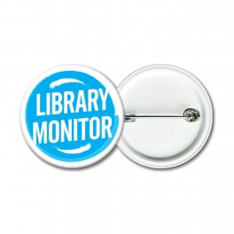 Library Monitor Badges (Senior) (10)