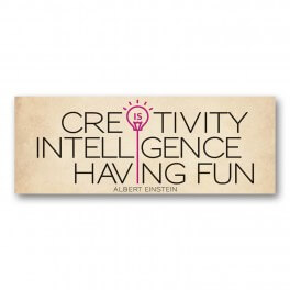 Creativity Wall Graphic