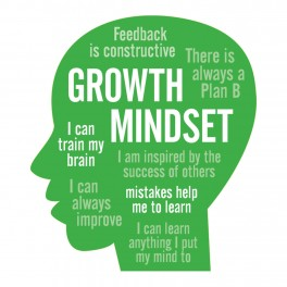 Growth Mindset Adhesive Wall Graphic