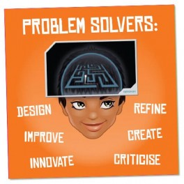 Problem Solvers Wall Graphic Sticker