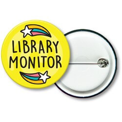 Library Monitor Badges (Junior) (10)