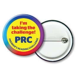 "PRC Badges ""I'm taking"" (10)"