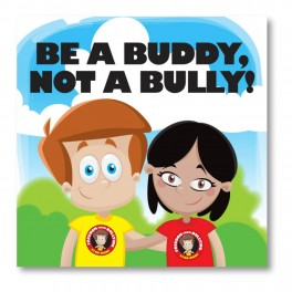 Be A Buddy Wall Graphic Sticker