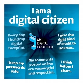 My Digital Footprint Wall Graphic Sticker