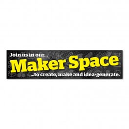 Makerspace Wall Graphic
