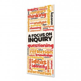 A Focus On Inquiry Door Graphic
