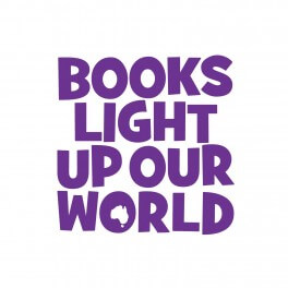 Books Light Up Our World Vinyl Lettering