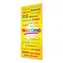 Welcome (Jnr) Door Graphic