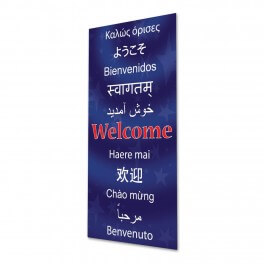 Welcome (Snr) Door Graphic
