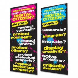 Digital Citizen Responsibility & Practice Door Graphics