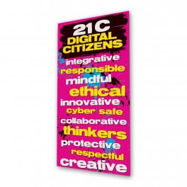 21C Digital Citizens Door Graphic