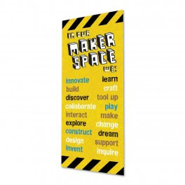 Makerspace Door Graphic